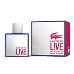 Lacoste Live Pour Homme by Lacoste for Men 3.3oz Eau De Toilette Spray