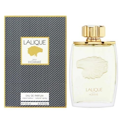 Lalique Pour Homme by Lalique for Men 4.2oz Eau De Parfum Spray