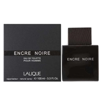 Encre Noir by Lalique for Men 3.4 oz Eau De Toilette Spray