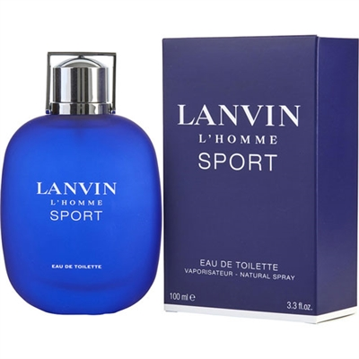 L'Homme Sport by Lanvin for Men 3.3oz Eau De Toilette Spray