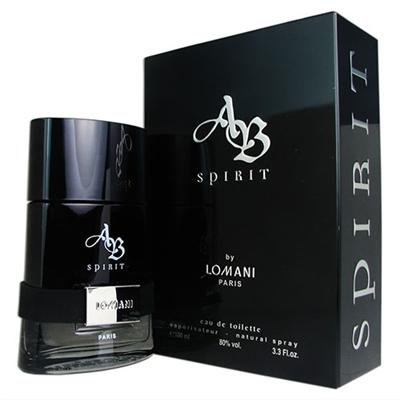 AB Spirit by Lomani for Men 3.3oz Eau De Toilette Spray