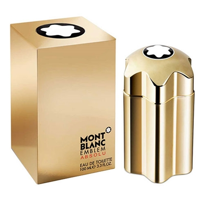 Emblem Absolu by Mont Blanc for Men 3.3oz Eau De Toilette Spray