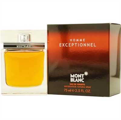 Exceptionnel by Mont Blanc for Men 2.5 oz Eau De Toilette Spray