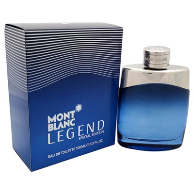 Mont Blanc Legend Special Edition 2014 by Monc Blanc for Men 3.3oz  Eau De Toilette Spray