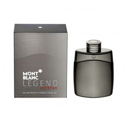 Legend Intense by Mont Blanc for Men 3.3 oz Eau De Toilette Spray
