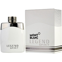 Legend Spirit by Mont Blanc for Men 3.3oz Eau De Toilette Spray