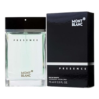 Presence by Mont Blanc for Men 2.5 oz Eau De Toilette Spray