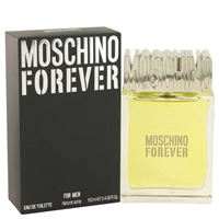 Forever by Moschino for Men 3.4 oz Eau De Toilette Spray