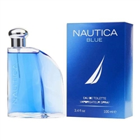 Nautical Blue by Nautica for Men 3.4 oz Eau De Toilette Spray
