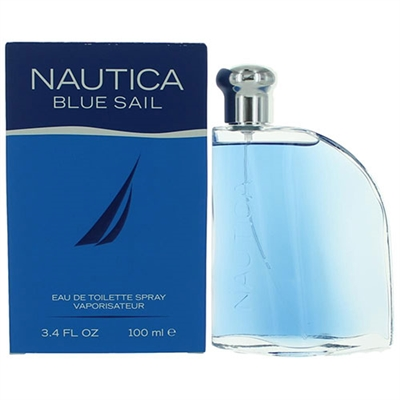Blue Sail by Nautica for Men 3.4oz Eau De Toilette Spray