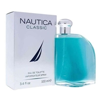 Nautica Classic by Nautica for Men 3.4 oz Eau De Toilette Spray