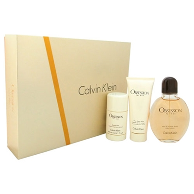 Obsession by Calvin Klein for Men 3 Piece Gift Set