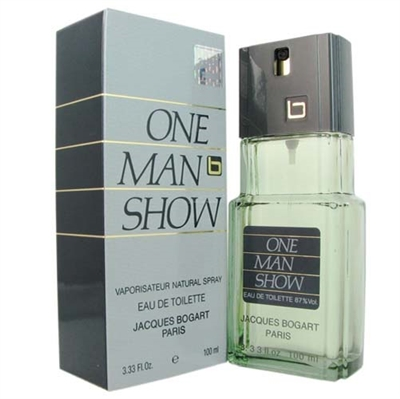 One Man Show by Jacques Bogart for Men 3.4 oz Eau De Toilette Spray