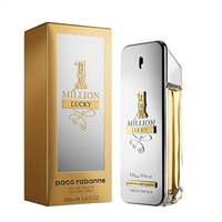 1 Million Lucky by Paco Rabanne for Men 3.4oz Eau De Toilette Spray