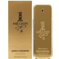 One Million by Paco Rabanne for Men 3.4 oz Eau De Toilette Spray