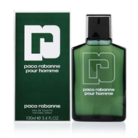 Paco Rabanne by Paco Rabanne for Men 3.4 oz Eau De Toilette Spray