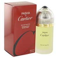 Pasha by Cartier for Men 3.3 oz Eau De Toilette Spray