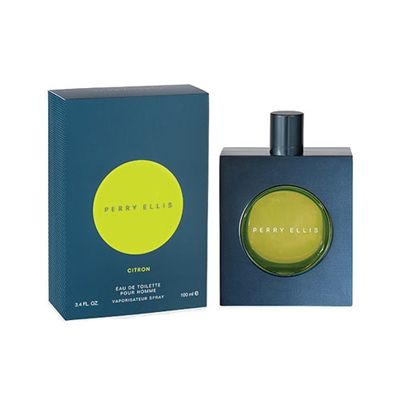 Citron by Perry Ellis for Men 3.4oz Eau De Toilette Spray