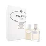 Prada Milano Infusion D'homme by Prada for Men 2 Piece Gift Set
