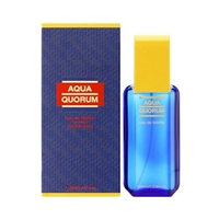 Aqua Quorum by Antonio Puig for Men 3.4 oz Eau De Toilette Spray