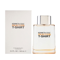 Reaction T-Shirt by Kenneth Cole for Men 3.4 oz Eau De Toilette Spray