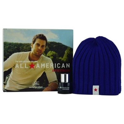 All American Stetson by Coty for Men 2 Piece Set