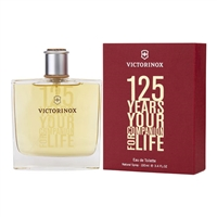 125 Years Your Companion For Life by Swiss Army for Men 3.4oz Eau De Toilette Spray