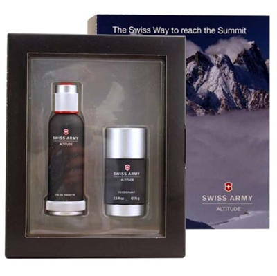 Altitude by Swiss Army Cologne for Men 2 Piece Gift Set