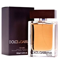 The One by Dolce & Gabbana for Men 3.3 oz Eau De Toilette Spray