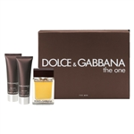 The One by Dolce & Gabbana for Men 3 Piece Gift Set