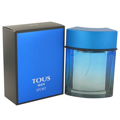 Tous Sport by Tous for Men 3.4oz Eau De Toilette Spray