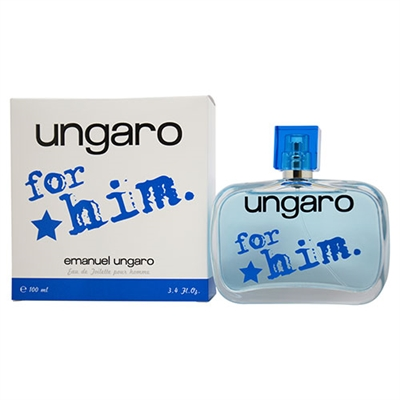 Ungaro for Him by Ungaro for Men 3.4oz Eau De Toilette Spray