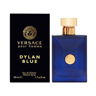 Dylan Blue by Gianni Versace for Men 1.7oz Eau De Toilette Spray