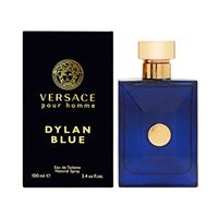 Dylan Blue Pour Homme by Versace for Men 3.4oz Eau De Toilette Spray