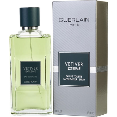 Vetiver Extreme by Guerlain for Men 3.4oz Eau De Toilette Spray