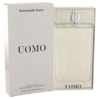 Zegna Uomo by Ermenegildo Zegna for Men 3.4oz Eau De Toilette Spray