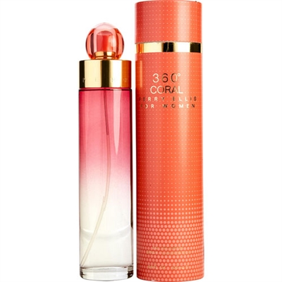 360 Coral by Perry Ellis for Women 6.8oz Eau De Parfum Spray