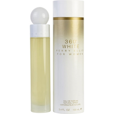 360 White by Perry Ellis for Women 3.4 oz Eau De Parfum Spray