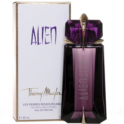 Alien The Refillable Stones by Thierry Mugler for Women 3.0oz Eau De Parfum Spray