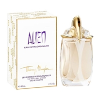 Alien Eau Extraordinaire The Refillable Stones by Thierry Mugler for Women 2.0oz Eau De Toilette Spray