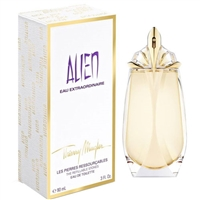 Alien Eau Extraordinaire The Refillable Stones by Thierry Mugler for Women 3.0oz Eau De Toilette Spray