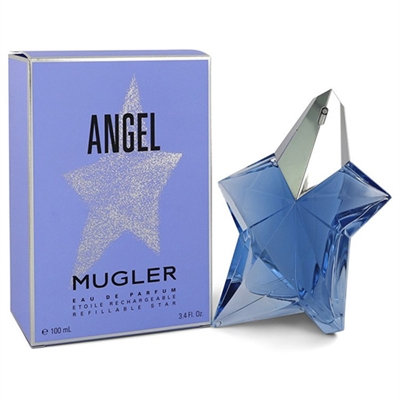 Angel Refillable Star by Thierry Mugler for Women 3.4oz Eau De Parfum Spray
