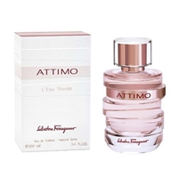 Attimo L'eau Florale by Salvatore Ferragamo for Women 3.4oz Eau De Toilette Spray
