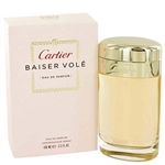 Baiser Vole by Cartier for Women 3.3 oz Eau De Parfum Spray