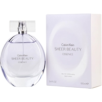 Sheer Beauty Essence by Calvin Klein for Women 3.4oz Eau De Toilette Spray