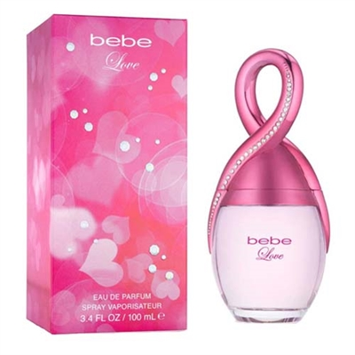 Bebe Love by Bebe for Women 3.4oz Eau De Parfum Spray