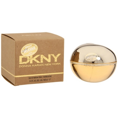 Golden Delicious by Donna Karan for Women 3.4 oz Eau De Parfum Spray