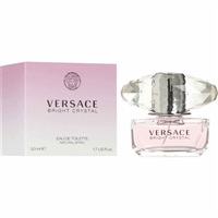 Bright Crystal by Gianni Versace for Women 1.7oz Eau De Toilette Spray
