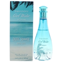 Cool Water Exotic Summer by Zino Davidoff for Women 3.4oz Eau De Toilette Spray