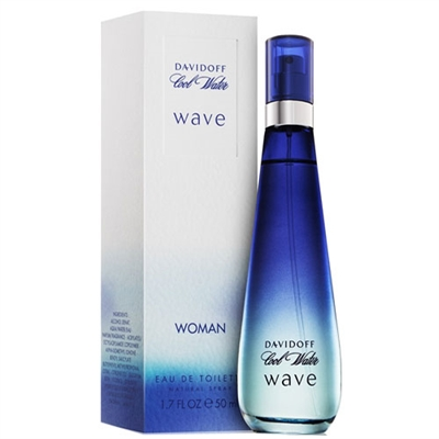 Cool Water Wave by Zino Davidoff for Women 1.7 oz Eau De Toilette Spray